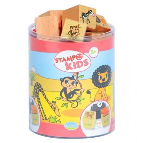 Stampo Kids - Lili dans la savane