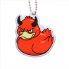 Official Deadly Duck Trackable Tag - Wrath (La colère)