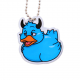 Official Deadly Duck Trackable Tag - Sloth (La paresse)