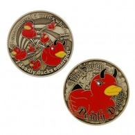 The Seven Deadly Ducks Geocoin - Edition Limitée