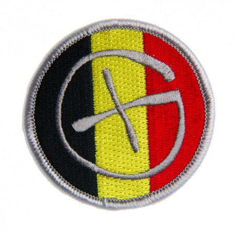 Patch Geocaching Belgique