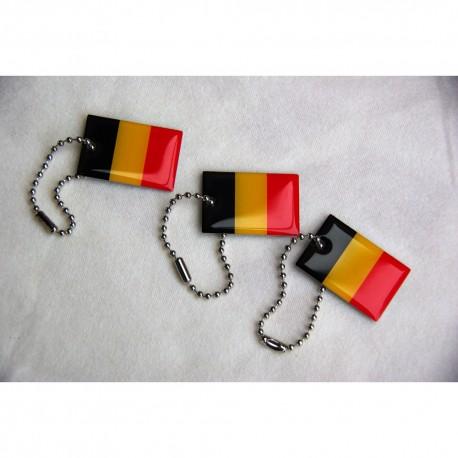Travel Flag Belgique - Lot de 3