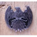 Steampunk Raven Geocoin