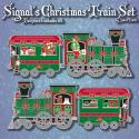 Signal's Christmas Train Geocoin Set