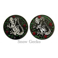 Géocoin Gecko - Snow