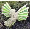 Steampunk Hummingbird Geocoin