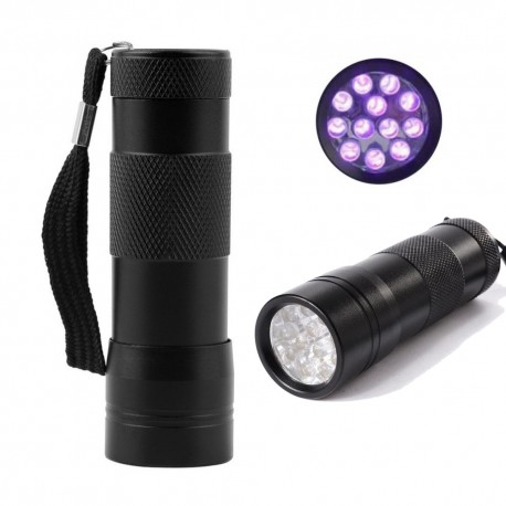 Lampe UV 12 LED - Noir