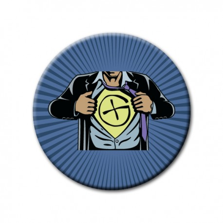 "Badge Supergeocacheur ""Logo"""
