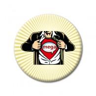 """Badge Supergeocacheur """"Mega Event"""""""