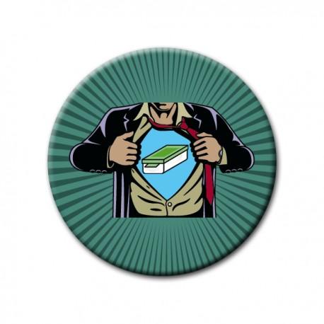 "Badge Supergeocacheur ""Cache"""