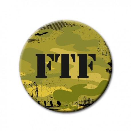 Badge FTF Camo