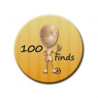 Badge 100 Finds