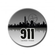 Badge 911 caches found !