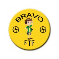 Badge FTF Jaune