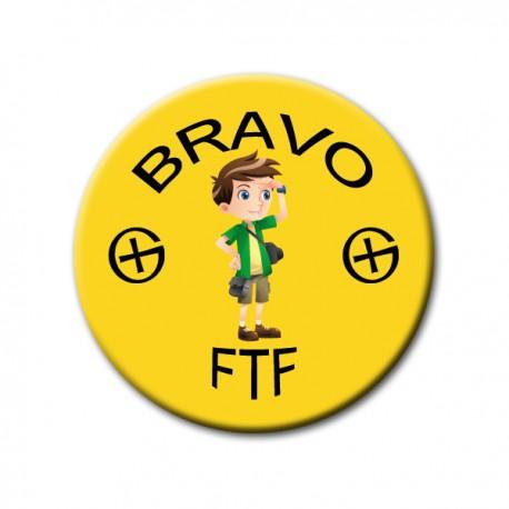 Badge FTF Jaune