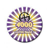 Badge - 4000 caches found !