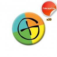 Badge Geocaching - Lot de 20