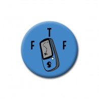 Badge FTF Bleu