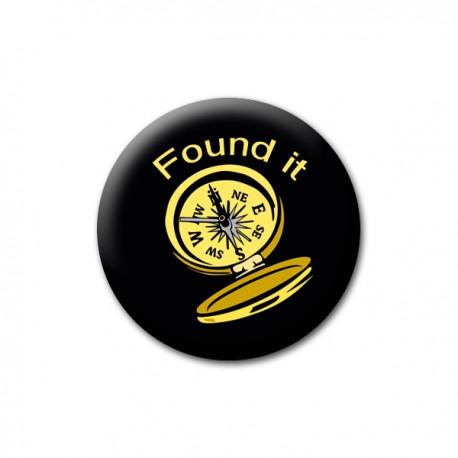 "Badge ""Found it"""