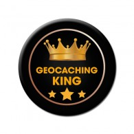 Badge Geocaching King