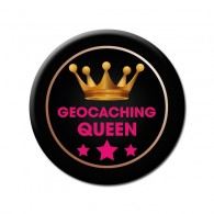 Badge Geocaching Queen