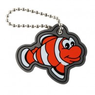 Travel Tag Poisson Clown
