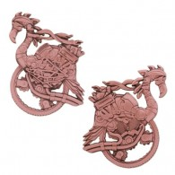 Steampunk Flamingo Geocoin