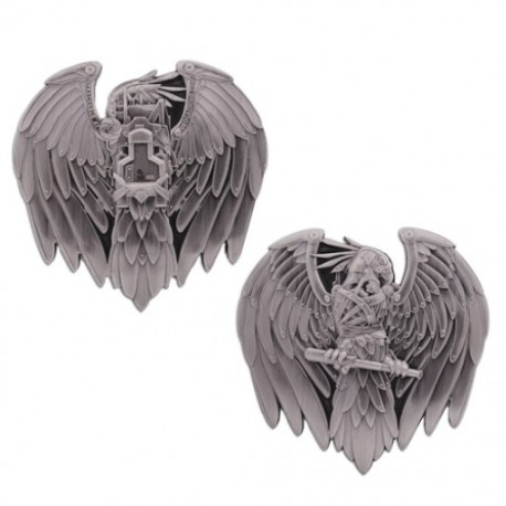 Steampunk Eagle Geocoin