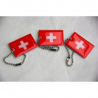 Travel Flag Suisse - Lot de 3