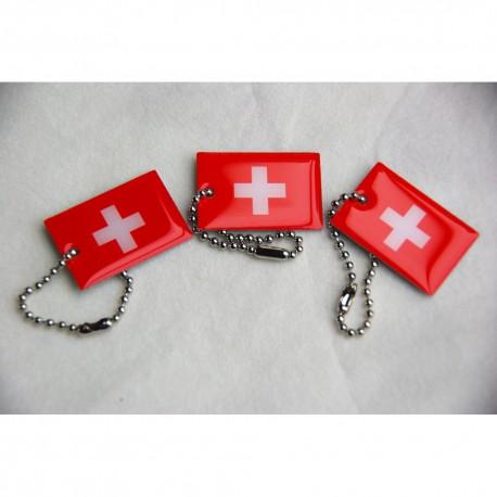 Travel Flag Suisse - Lot de 3