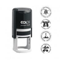 Tampon rond 24mm - Colop Printer R24 Noir