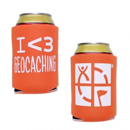 Geocaching Coozy - Orange