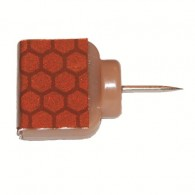 Reflective Wing Tacks Marron - 25