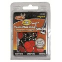 Reflective Trail Tacks - 50 marron