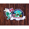 Pack Canada Day - Where in the world is Signal the Frog®?