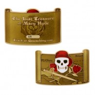 Pirate Geocoin and Tag Set - The Lost Treasure of Mary Hyde