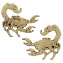 Steampunk Predators Geocoin - Scorpion