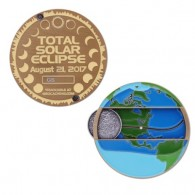 Solar Eclipse Geocoin