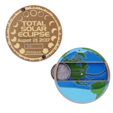 Solar Eclipse Geocoin