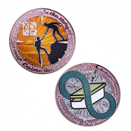 2017 International Geocaching Day - Geocoin