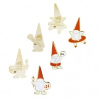 GIFF Micro Gnomes Geocoin Set (set of 3)
