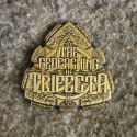 Trifecta Geocoin - Bronze Finish