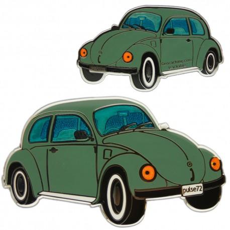 Geo-Beetle (Geo-Bug) Geocoin - Green