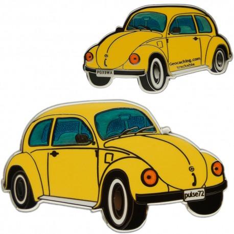 Geo-Beetle (Geo-Bug) Geocoin - Yellow