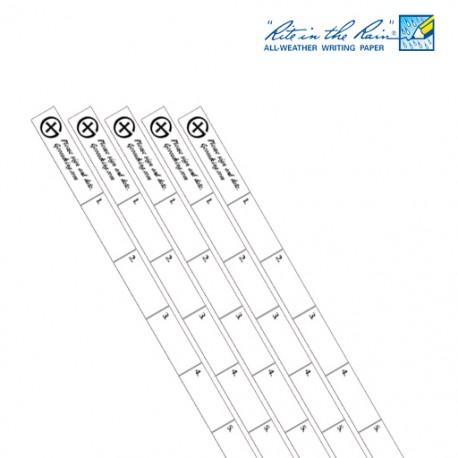 Nano Logsheet Rite in the Rain® x5 - Logo GC