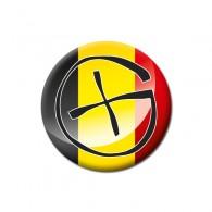 Badge Geocaching - Belgique