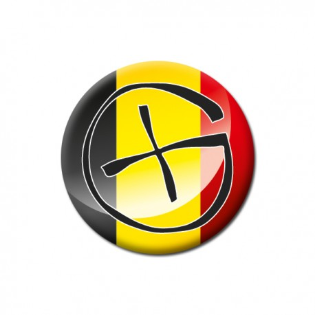 Badge Geocaching - Belgique