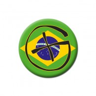 Badge Geocaching - Brésil