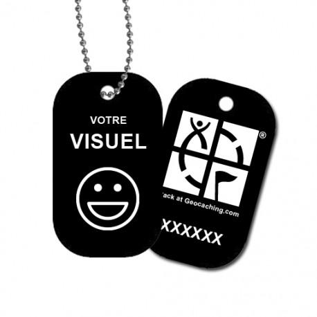 Travel Tag personnalisé - Noir