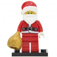 Figurine Père Noël Brick